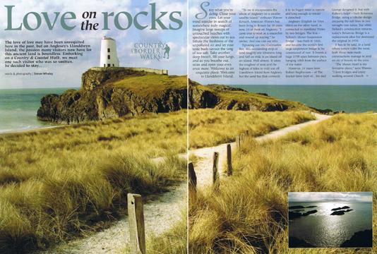 Love on the Rocks was published in Country & Border Life