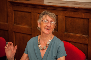 Doris Corti at the Caerleon Writers' Holiday