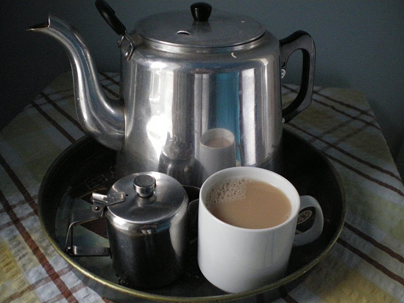 What every writer needs - a decent sized pot of tea!