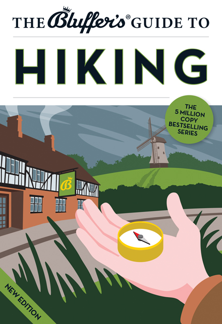 The Bluffers Guide to Hiking: New cover for the revised editon