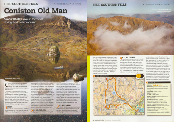 Coniston Old Man was published in Lakeland Walker