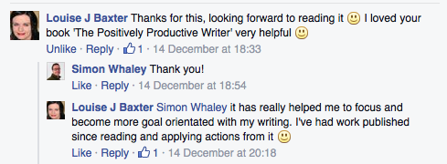 The Positively Productive Writer praise