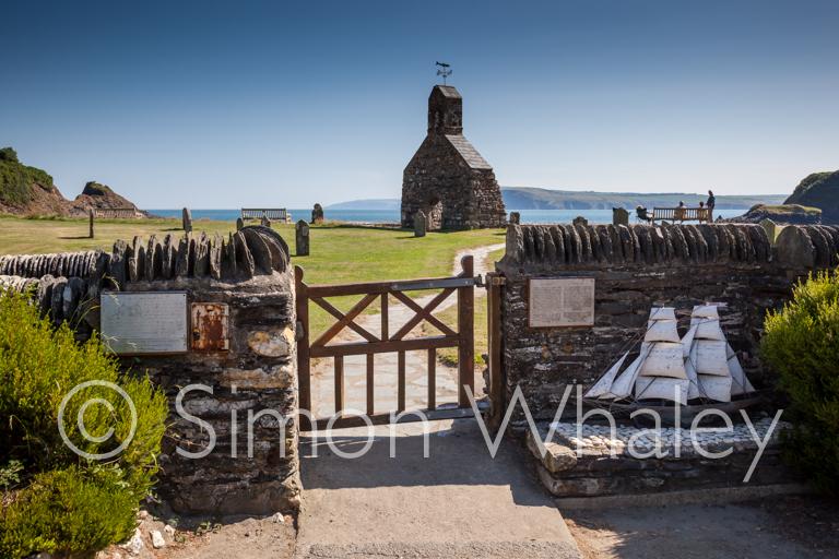 St Brynach's remains at Cwm-yr-Eglwys