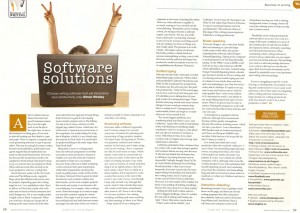 BoW - Software Solution - Writing Magazine - Oct 2014