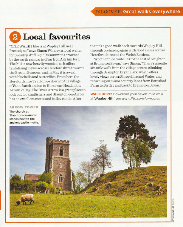 Local Favourites - Wapley Hill - Country Walking - May 2015