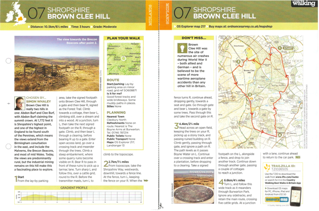 Brown Clee Hill - CW