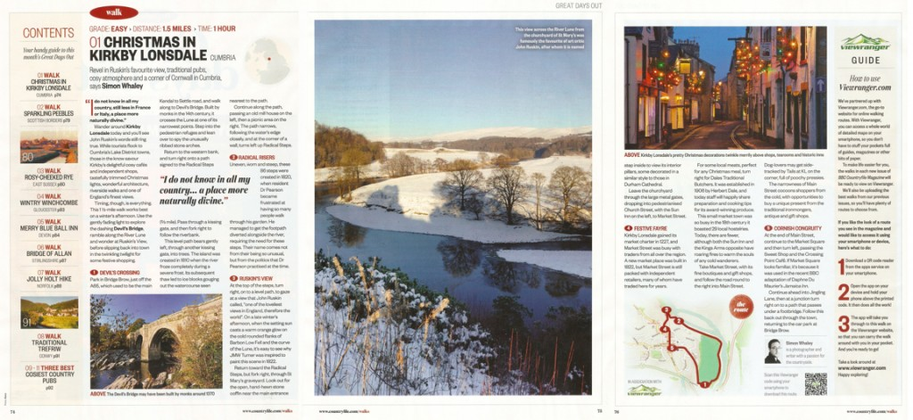 Christmas in Kirkby Lonsdale - BBC Countryfile - Dec 2015