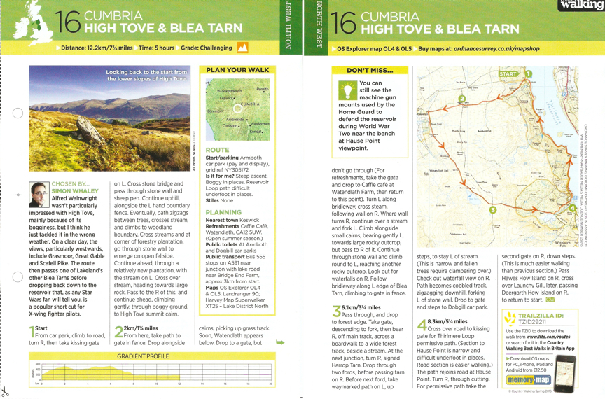 High Tove- Country Walking - Spring 2016