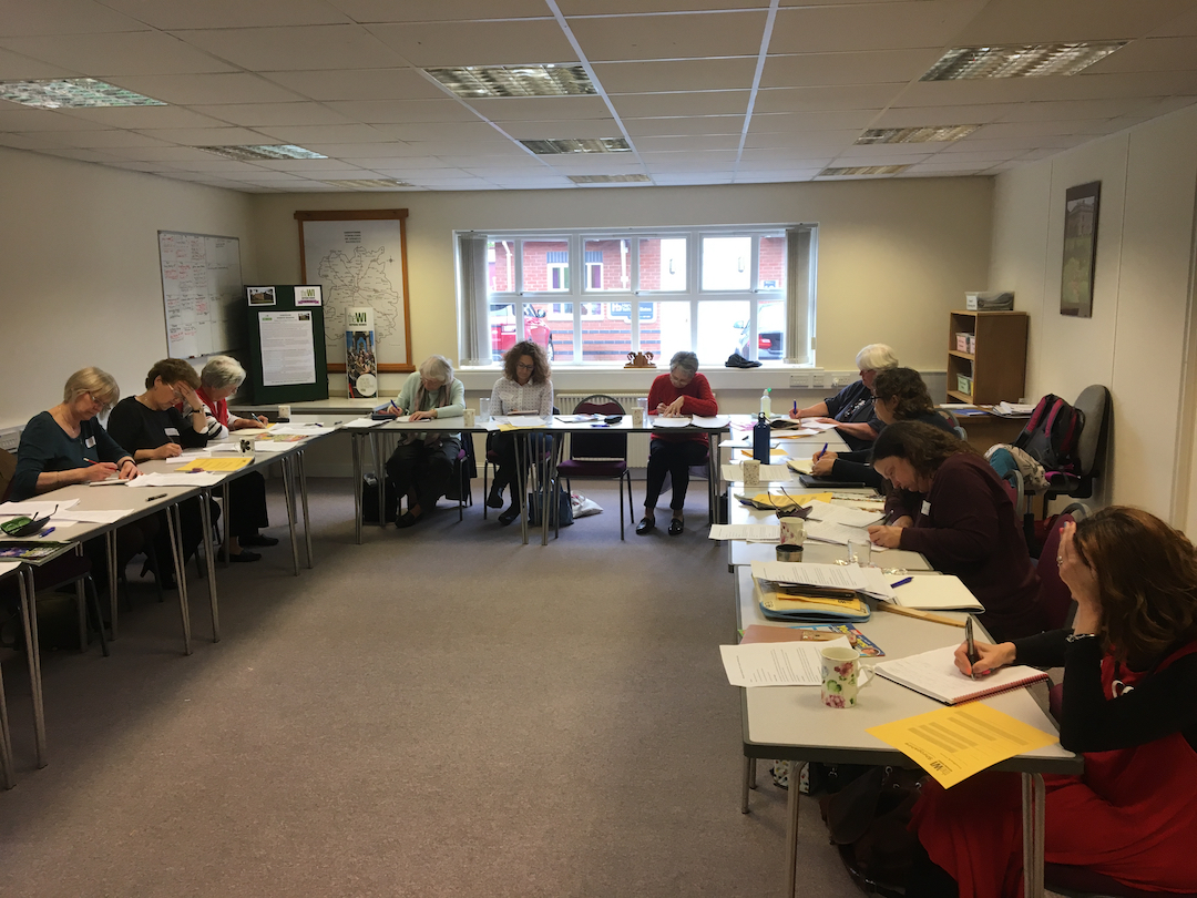Shropshire Federation of WI Creative Writing Workshops