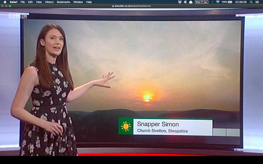 Shropshire Sunset Snapper