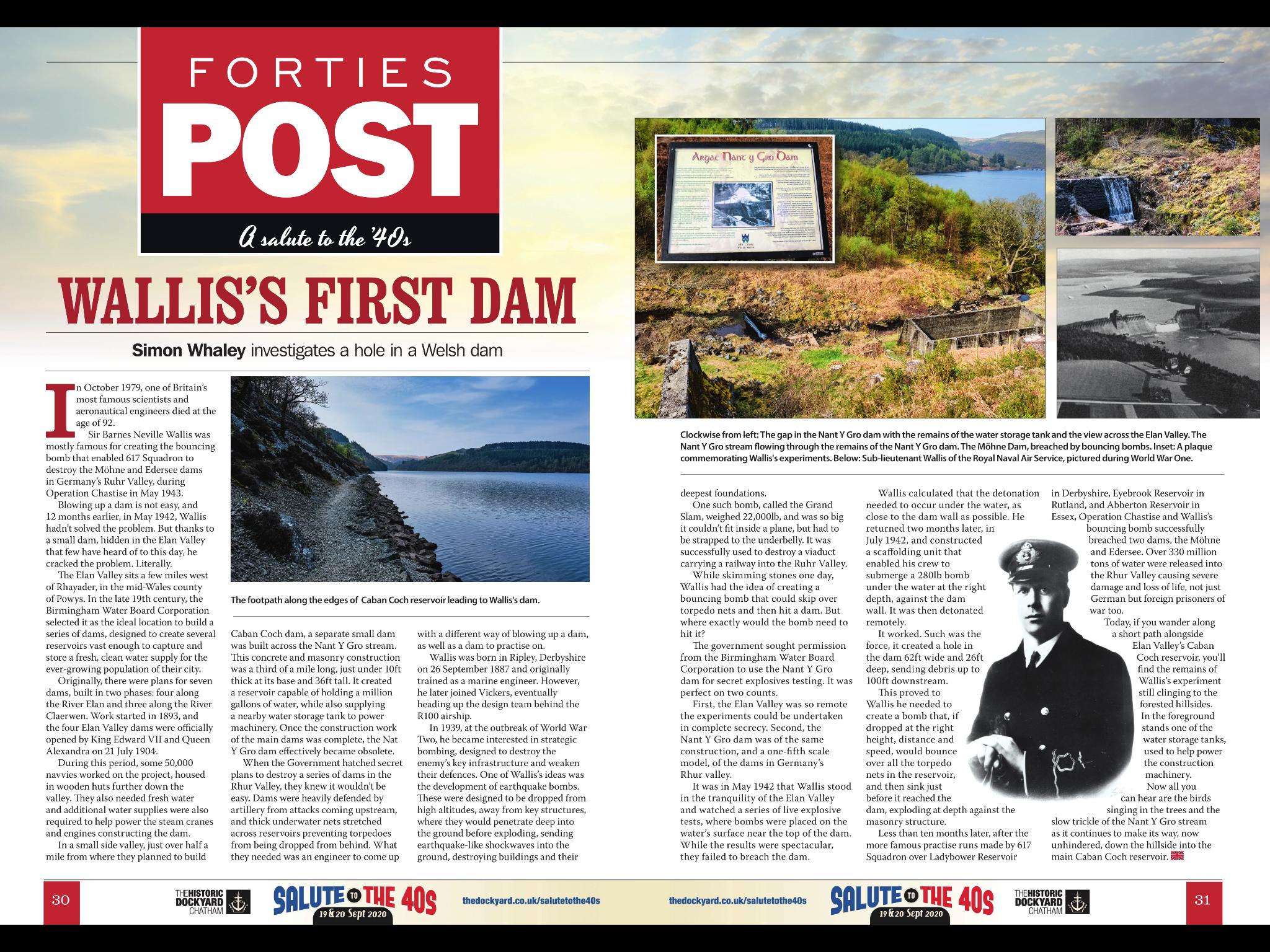 Wallis's First Dam