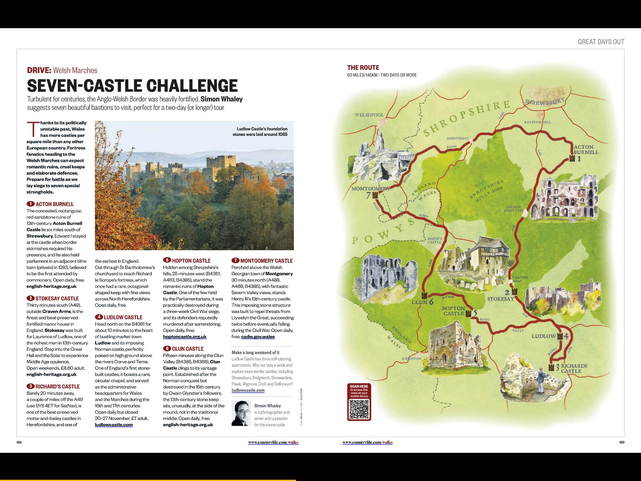 Welsh Border Seven Castle Challenge