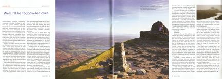 Well, I'll Be Fogbow-led Over was published in Cumbria magazine
