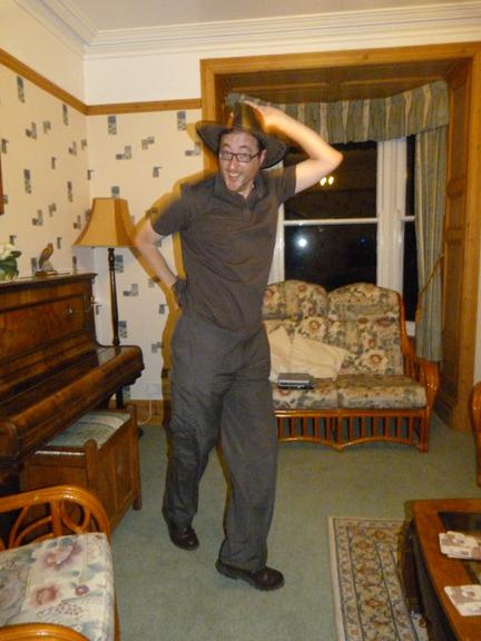 Bring Me Sunshine ... on the Cwmtydu Wrekin Writer Retreat 2011 (Photo credit: Diane Perry)