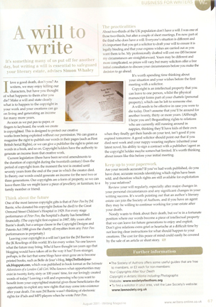 A Will To Write by Simon Whaley
