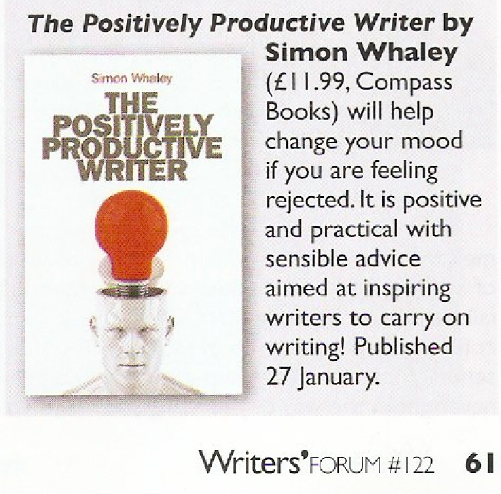The Positively Productive Writer Review - Writers Forum - January 2012