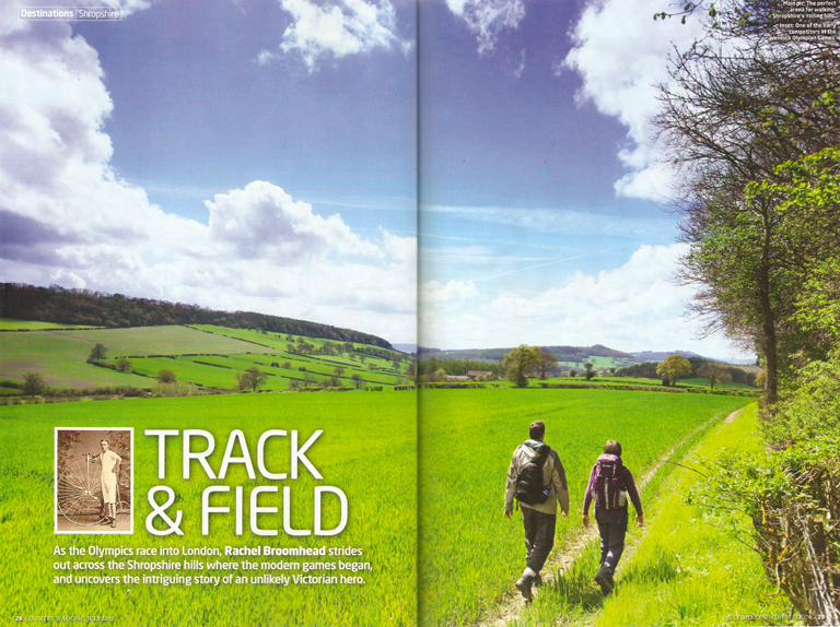 Track & Field - Country Walking Photoshoot - July 2012-1