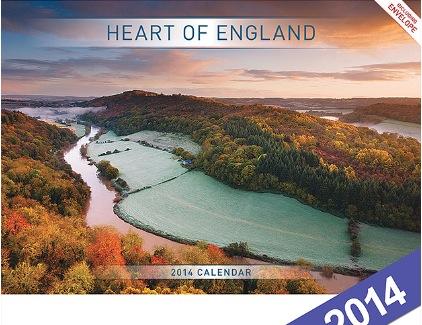 2014 Heart of England Wall Calendar
