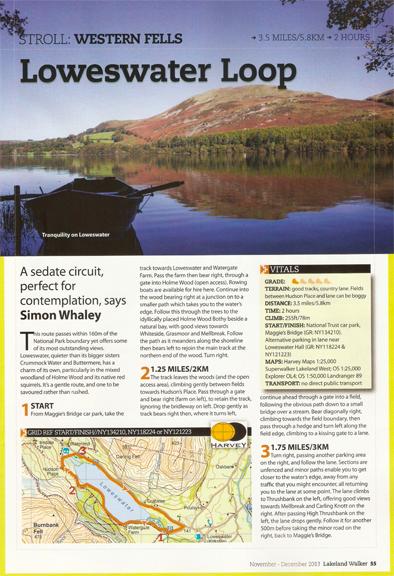 Loweswater Loop was published in Lakeland Walker