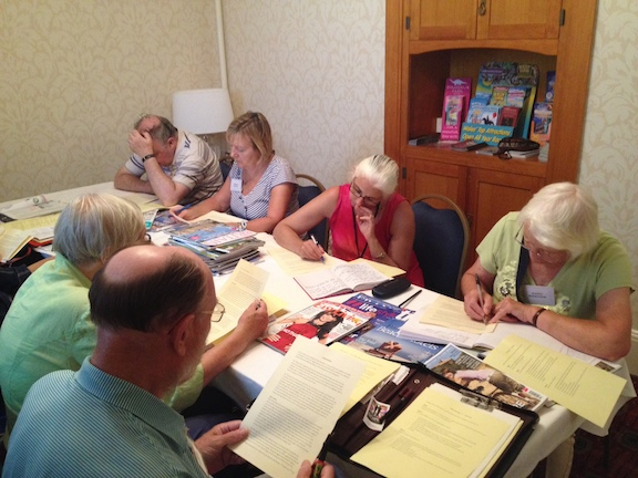 Writers in my The Complete Article Writer workshops