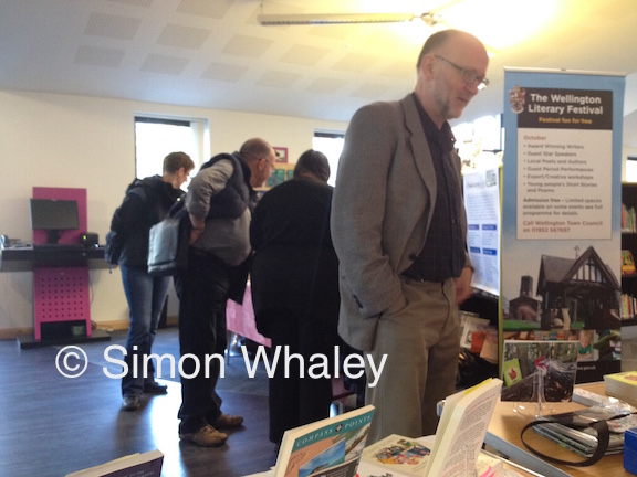 Visitors browsing the Meet the Author stalls