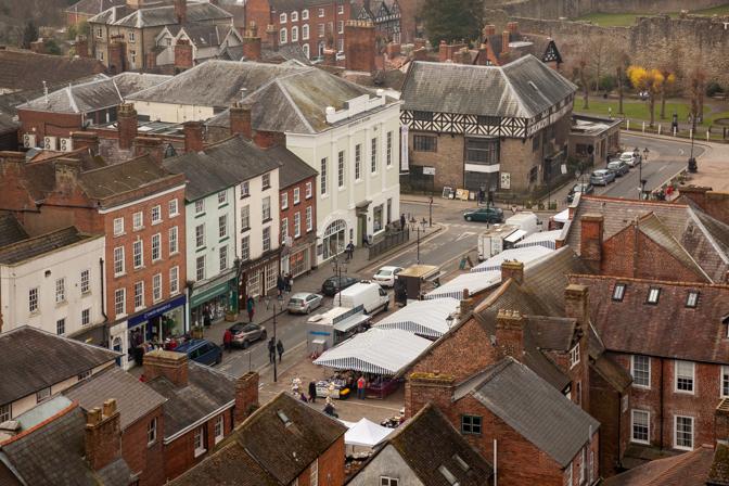 Ludlow Market, Ludlow, Shropshire