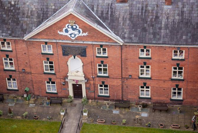 Hosyers Almshouses, Ludlow, Shropshire