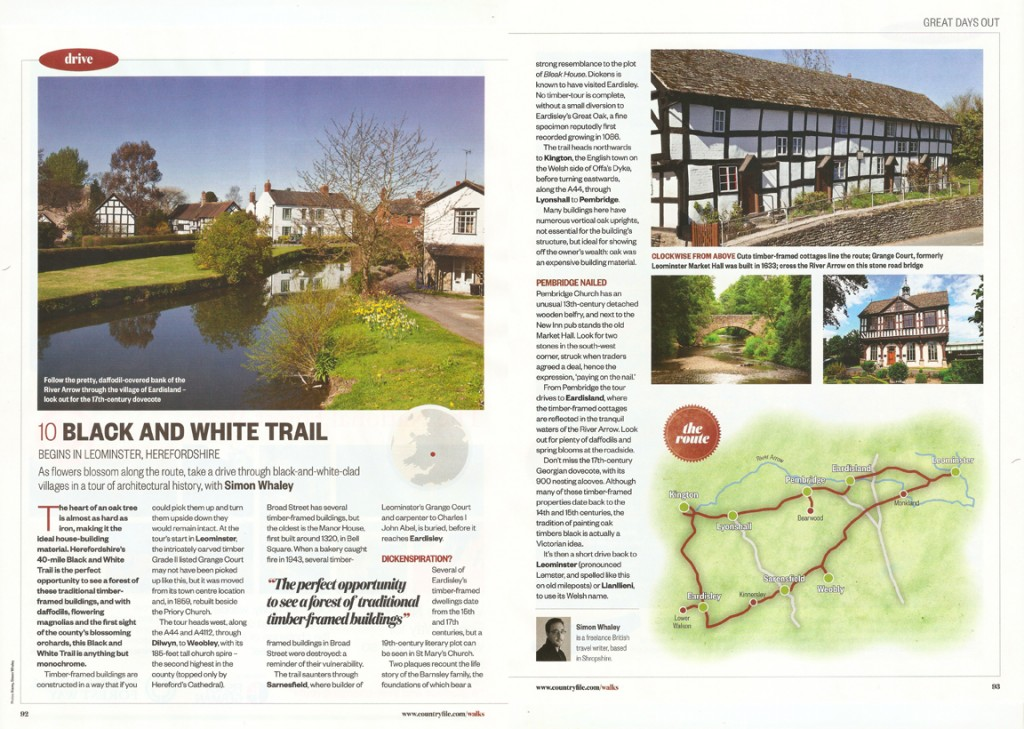 Black and White Trail - BBC Countryfile - April 2015