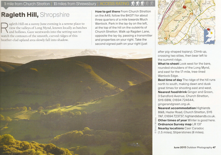 Ragleth Hill - Outdoor Photography - June 2015