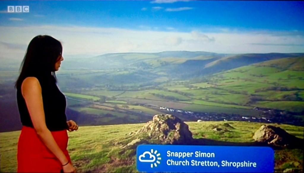 Photo on BBC Midlands Today