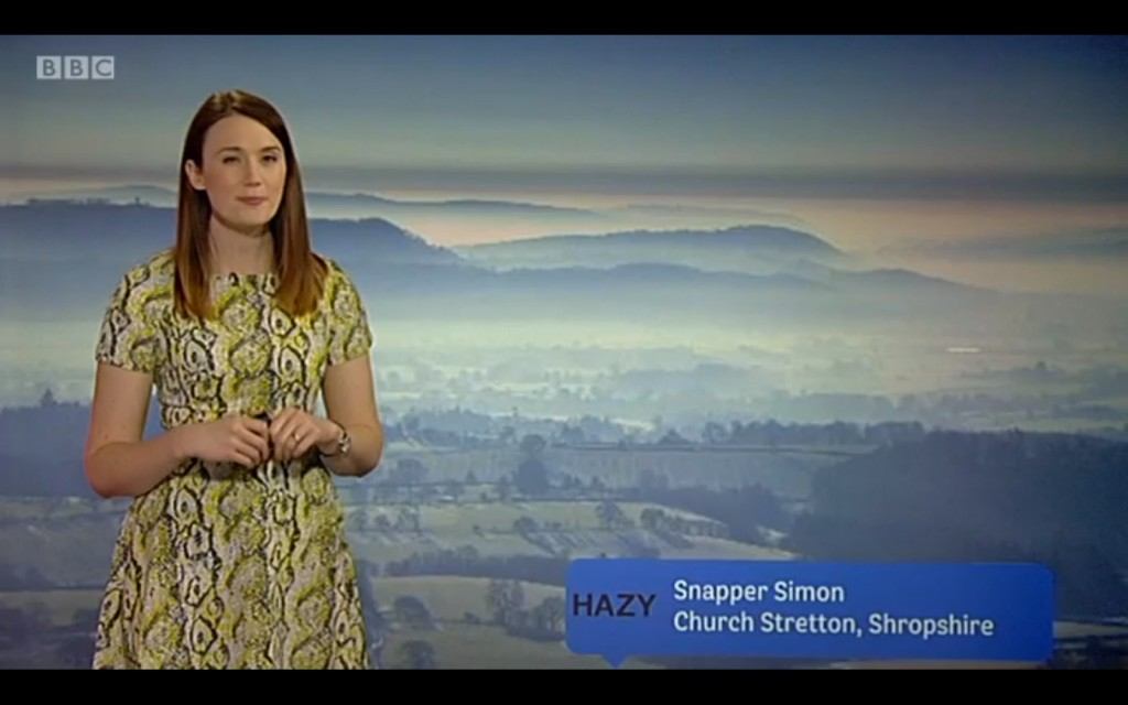 Hazy South Shropshire