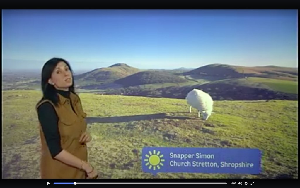 9th February 2016 - BBC 1 Midlands Today - Lunchtime