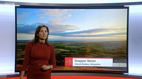 Snapper Simon Snaps Soft Sunset over South Shropshire Slopes