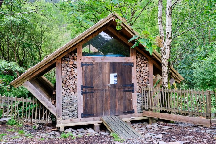 The 24-hour hut built by George Clarke and his Amazing Spaces team.