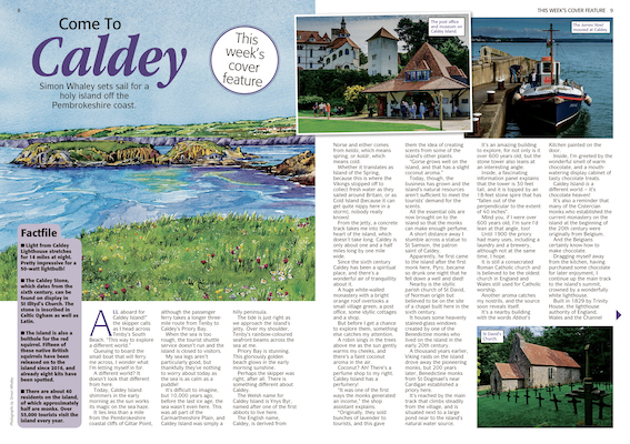 Come to Caldey